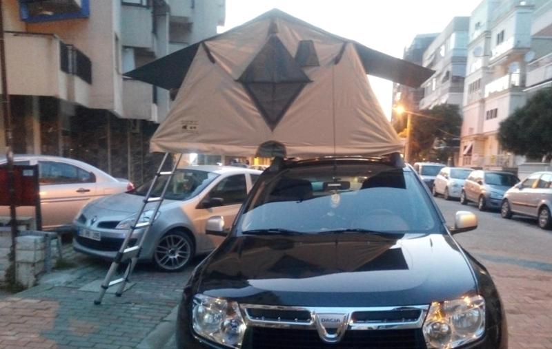 zelt für autodach