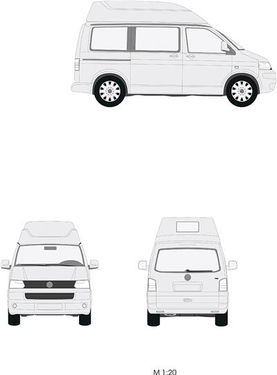 volkswagen t5 vw kr hochdach sca 460 preiswerter. Black Bedroom Furniture Sets. Home Design Ideas